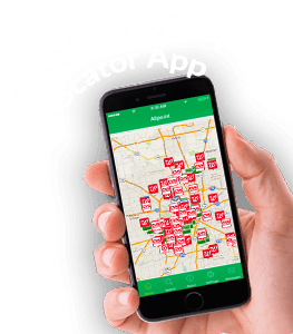 Allpoint mobile app download page